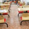 饺子馆餐厅桌椅_饭店快餐桌椅_港式餐厅桌椅定做批发工厂