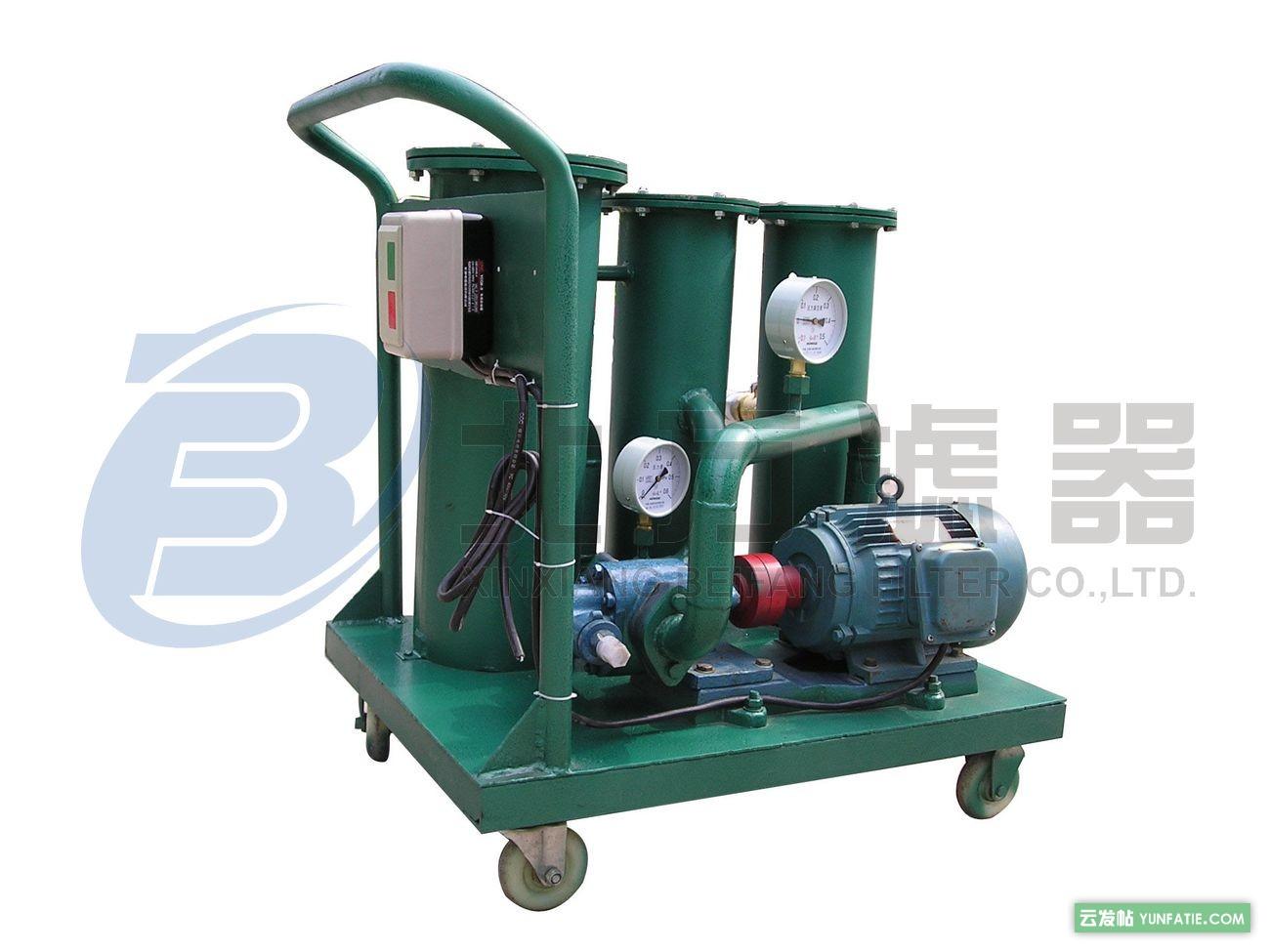 LYC-30B润滑油滤油机使用说明_滤油机价格多少钱