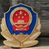 1米贴金警徽制作-3米八一军徽定制-厂价提供