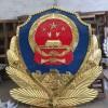 警徽生产厂家工厂价格一件也是批发价 贴金国徽制作定制