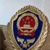 80厘米1.5米消防徽制作厂家 铸铝消防徽定制厂
