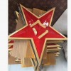 销售批发2.5米铸铝八一五角星军徽