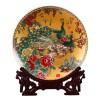 公司开业礼品回赠陶瓷纪念盘定制加印企业logo