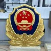 监狱局徽章生产-批发0.8米公安警徽