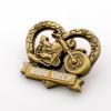 锌合金胸章,定制红铜徽章,公司司徽
