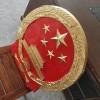 金属国标尺寸国徽定制 1米2.5米烤漆警徽现货销售