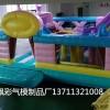 厂家定制充气城堡滑梯跳跳床儿童游乐设备户外儿童城堡蛋糕