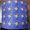 水刺卡通印花款无纺布 口罩外层用布 厂家供应