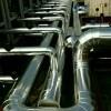 垃圾场设备管道保温工程防腐玻璃棉不锈钢设备保温